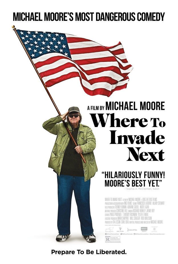 Image result for where to invade next poster